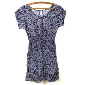 Target Navy Polkadot Mini Dress